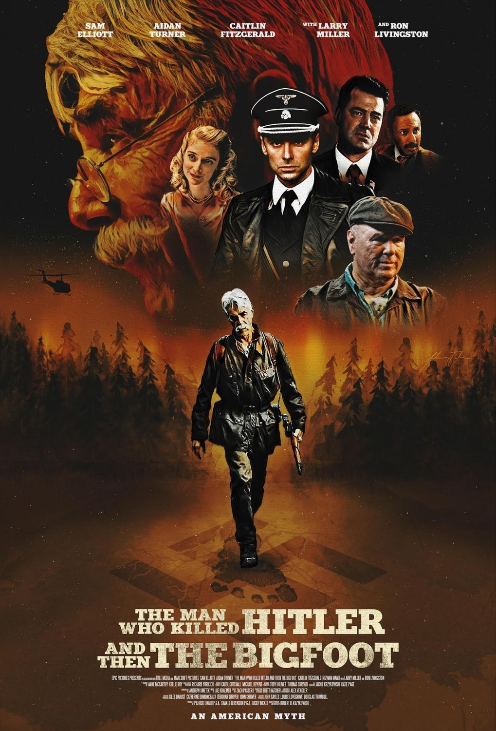 ดูหนังออนไลน์ The Man Who Killed Hitler and Then the Bigfoot (2018) (Soundtrack)
